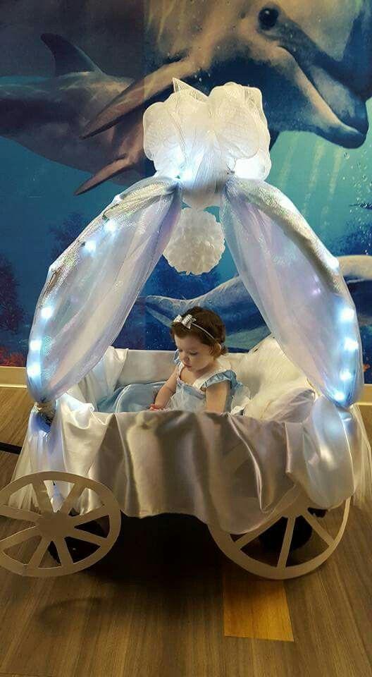 Princess carriage Halloween wagon