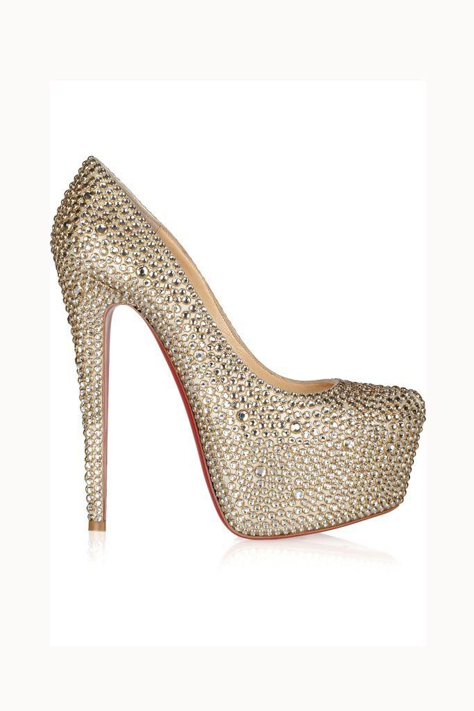Tendencias: Los zapatos más rompedores de 2013 Pump con plataforma XL, de Christian Louboutin.