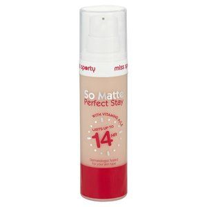 Miss Sporty So Matte Perfect Stay Foundation Ivory 1