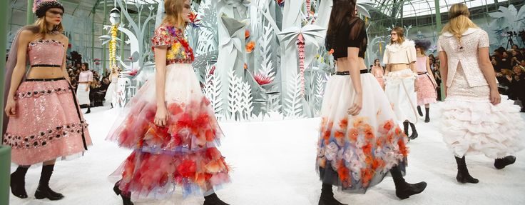 Paris Haute Couture fashion week is under way, and here are the best shots from the scene at Chanel's Spring 2015 Couture show.