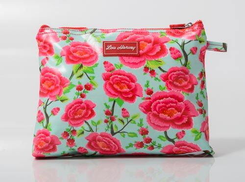 Great for nappies, wipes and spare baby outfits. Large Cosmetic Bag - Alexandra Sage  $34.95 www.gumbootsandcurls.com.au