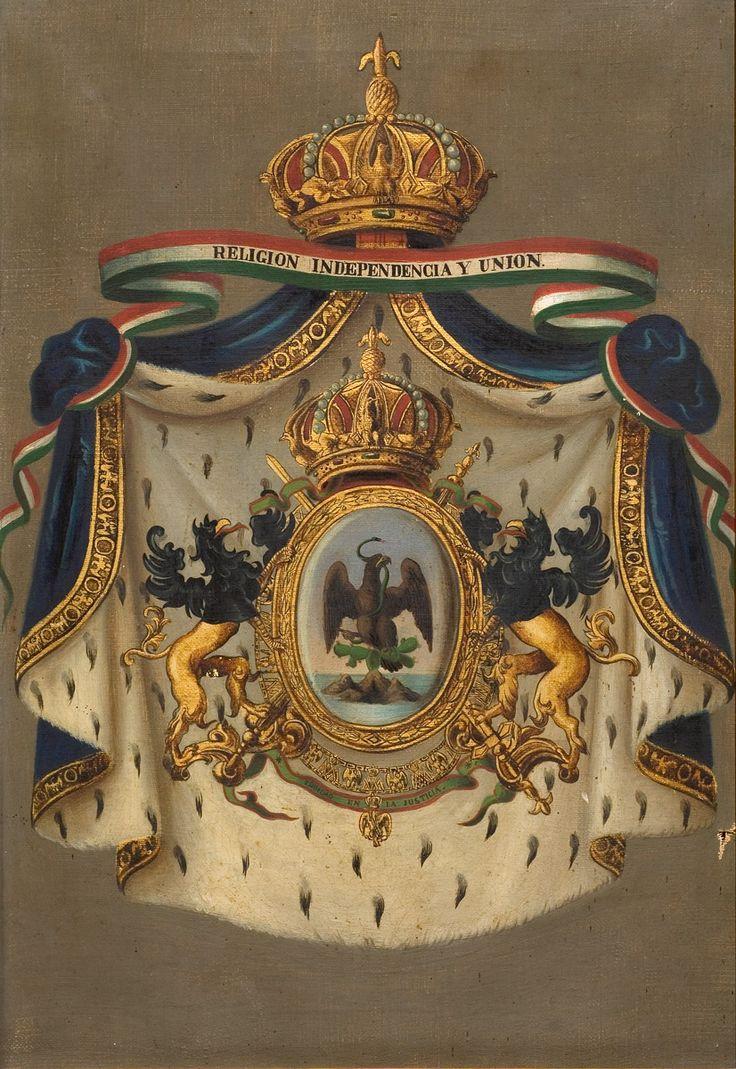 Escudo Imperial de Mexico