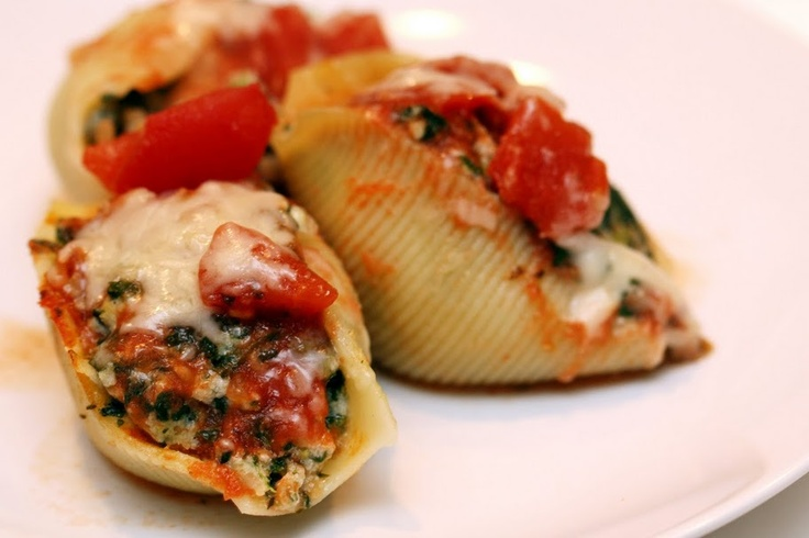 ... spinach stuffed shells sausage spinach ricotta stuffed pasta shells