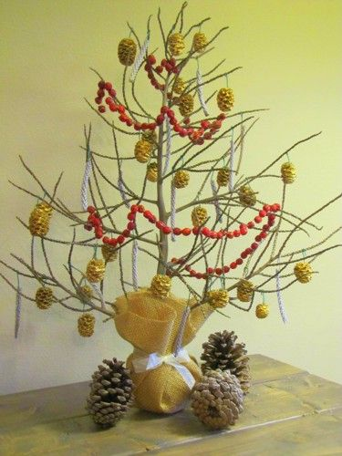 I wanted to make an inexpensive mini christmas tree this year. And when I came across the fallen palm stalk in the exact shape of a christmas tree, I thought it would be perfect. At first I was going to dress it with mini christmas tree balls, but when I saw the price ($5) I decided to hit the... #Christmas, #DIY, #Tree