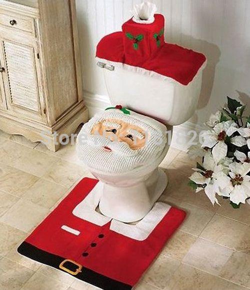 Ucuz 3 adet noel süsleri mutlu Noel klozet kapağı ve halı banyo seti, Satın Kalite sandalye örtüsü doğrudan Çin Tedarikçilerden:  christmas santa banyo seti- mutlu santaSevimli gülen yüzü ile olarak Santa dekor banyo için yılbaşı tatili için!