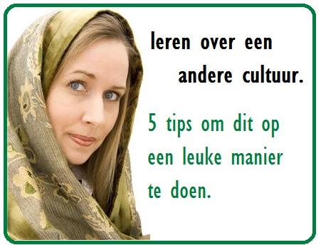 Leren over een andere cultuur.