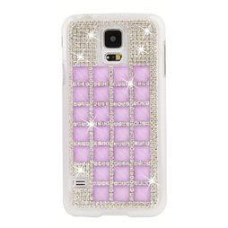 Samsung Galaxy S5 Diamant Kristall Skal Lila