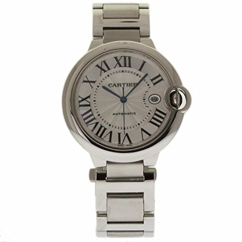 Price:       (adsbygoogle = window.adsbygoogle || []).push();  Cartier Ballon Bleu de Cartier Silver Opaline Dial Stainless Steel W69012Z4. Stainless steel case with a stainless steel bracelet. Fixed stainless steel bezel. Silver opaline dial with sword-shaped blue hands and Roman...