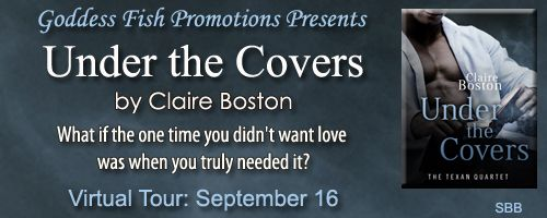 Under the Covers by Claire Boston Win 1 of 2 ebook copies of What Goes on Tour and All that Sparkles, the first two books in The Texan Quartet. https://www.rafflecopter.com/rafl/display/28e4345f1247/