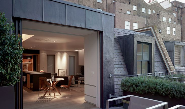 McLean Quinlan Architects Bayswater London Mews Roof terrace