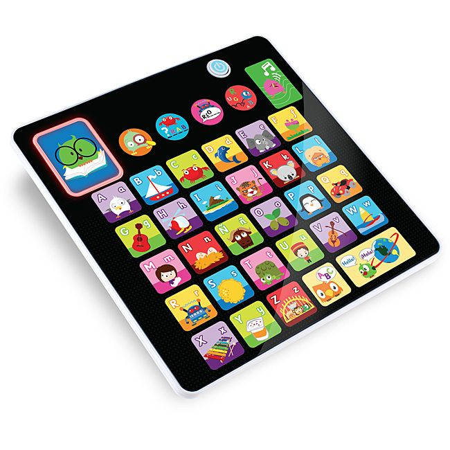 Kidz Delight Smooth Touch Alphabet Tablet Toy (Smooth Touch Alphabet Tablet *new*), Black