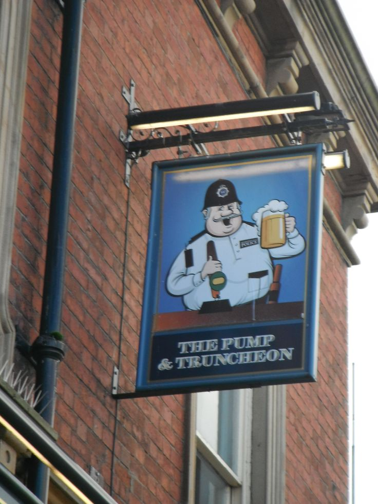 Sometimes I don't have to look to far to discover how a pub came by its name. I guessed as soon as I saw this one that it must have once been a police station,...