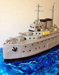 Elaine's Sweet Life: Battle Ship Cake