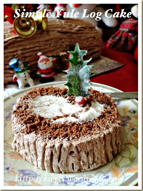INTRODUCTION I never believed that I am able to prepare a log cake…It looks difficult and I took out my courage to prepare one today. Readers, rest be assured, if I can, you can..and let me share w...