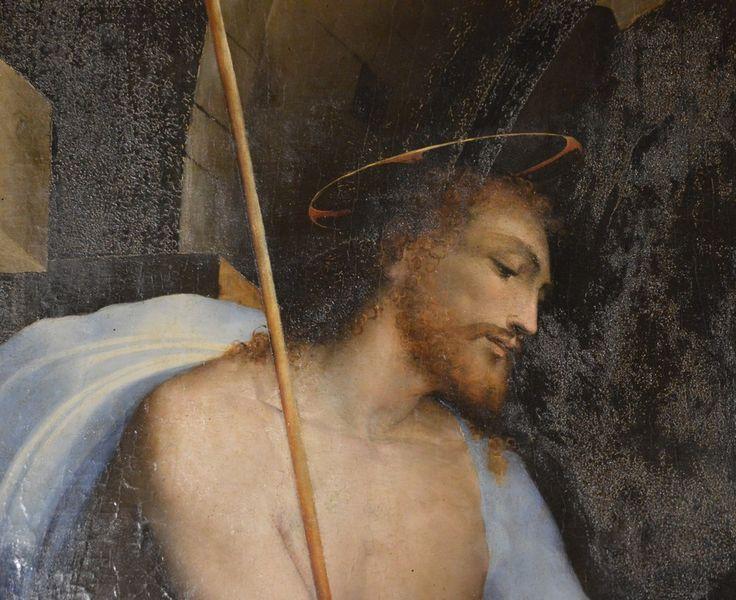 Siena  Domenico Beccafumi (1486-1551) Cristo al Limbo (my photo)