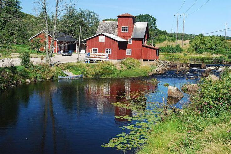 Paddle along Holjeåleden from Östafors to Ivö Lake