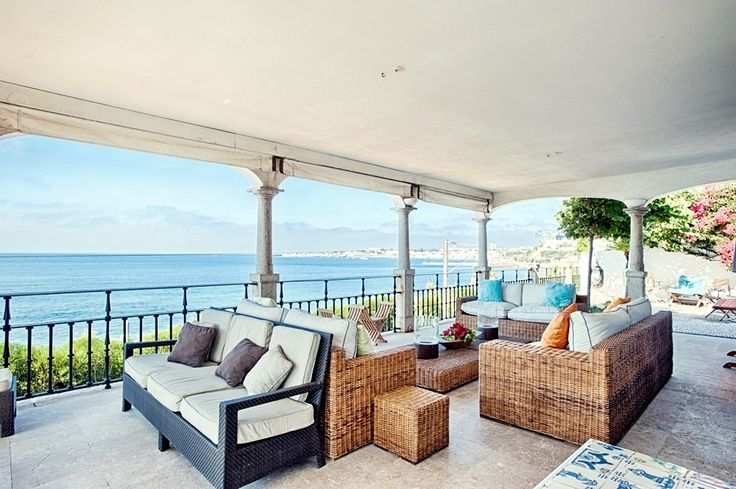 Get together with friends and admire the sea directly from your porch.  #realestate #luxuryhome #luxurylife #friends #dreamhouse #Portugal #Cascais #sea  #view #billionaire #instaluxe https://www.luxuryestate.com/p45476801-villa-for-sale-cascais