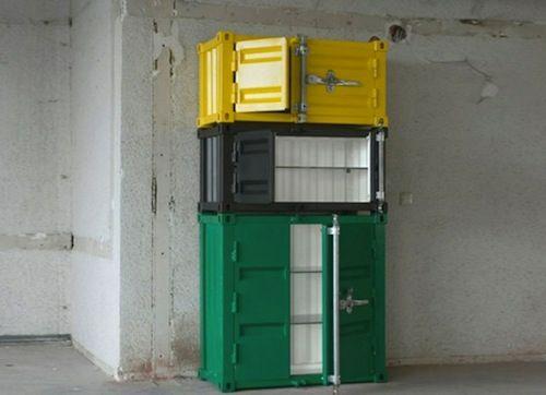 Taschenschrank von Maarten De Ceulaer - Designer Kleiderschrank