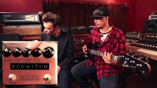 Ben Fulton, creator, designer and founder of Red Witch demos Factotum Bass Suboctave