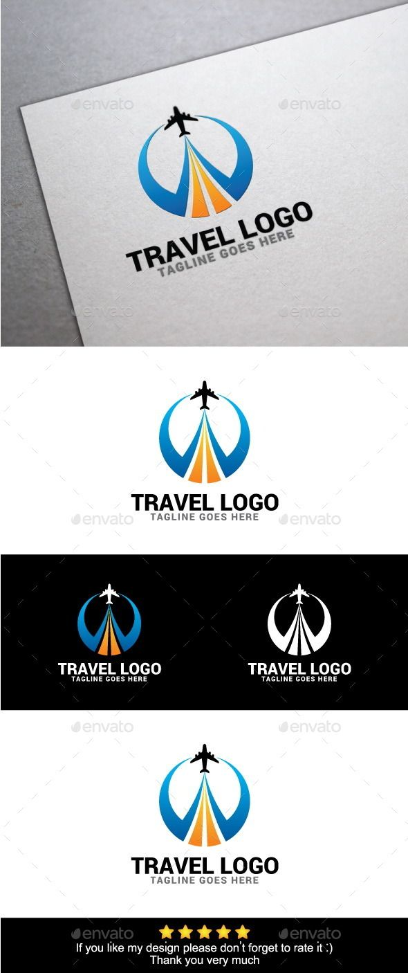 World Travel Logo Template — Vector EPS #tourists #design • Available here → https://graphicriver.net/item/world-travel-logo-template/10135555?ref=pxcr