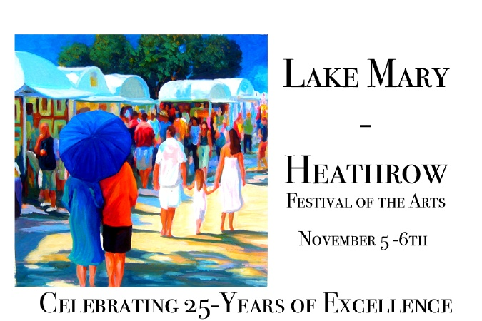 Lake Mary - Heathrow Festival of the Arts in Lake Mary, FL (Nov.) - The Lake Mary Heathrow Festival of the Arts is a non-profit community organization that provides college scholarships to Seminole County graduating high school seniors whom possess the talent, passion and desire to continue their love for art.