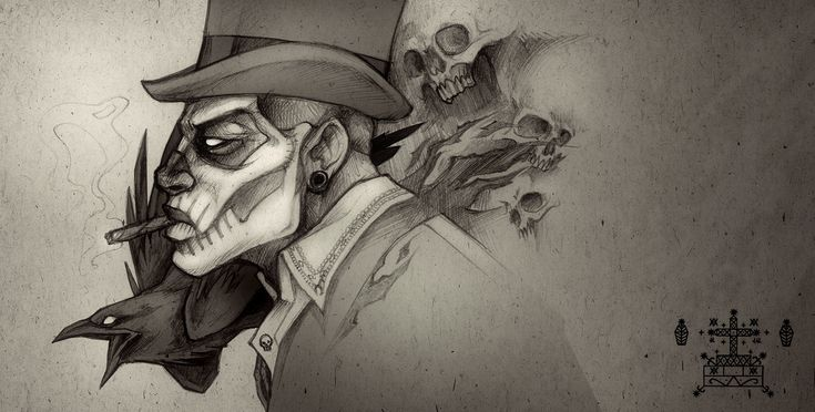 Baron Samedi Loa Of Death | par Nicolas Munoz