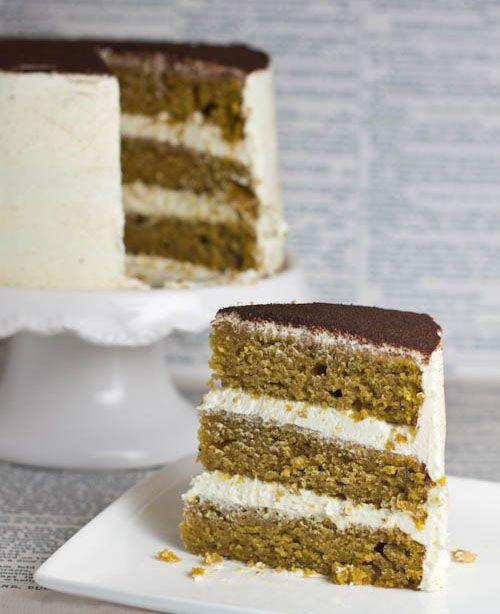 Objetivo: Cupcake Perfecto.: Tarta de calabaza (con mucha canela y mucho Fluff!!)