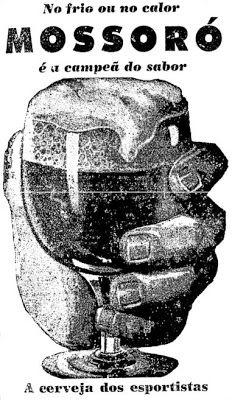 """MOSSORÓ Teve sua produção iniciada nos anos 30. Seu nome foi uma homenagem ao cavalo """"Mossoró"""", vencedor do 1º Grande Prêmio do Brasil, realizado no Rio de Janeiro de 1933. Deixou de ser fabricada há décadas.    anúncio de 1959"""