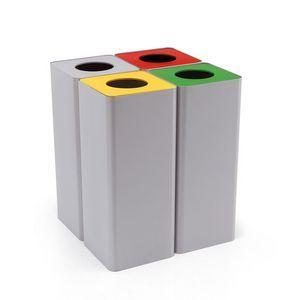Centolitri 1 cestini per la raccolta differenziata per for Ufficio decoro urbano roma