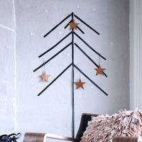マスキングテープってすごい!壁アートでお部屋がクリスマス仕様に♪