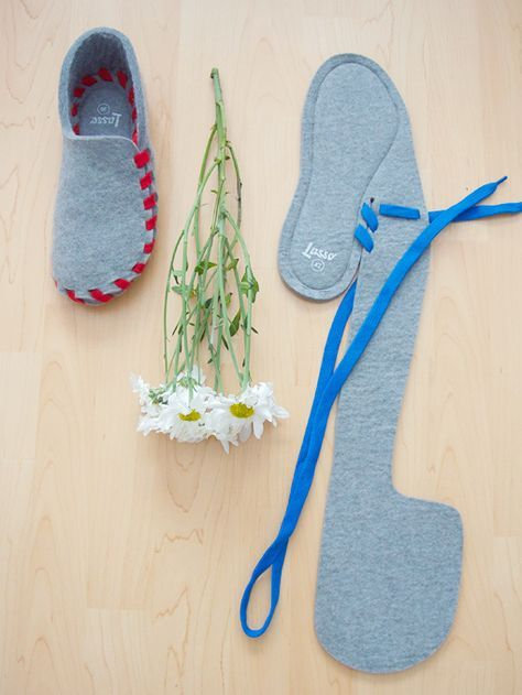 Lasso Wool Slippers
