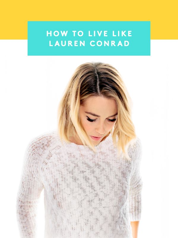 Lauren Conrad's hair secrets — these are a MUST-read
