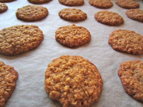 Lækre småkager med havregryn og kokos!