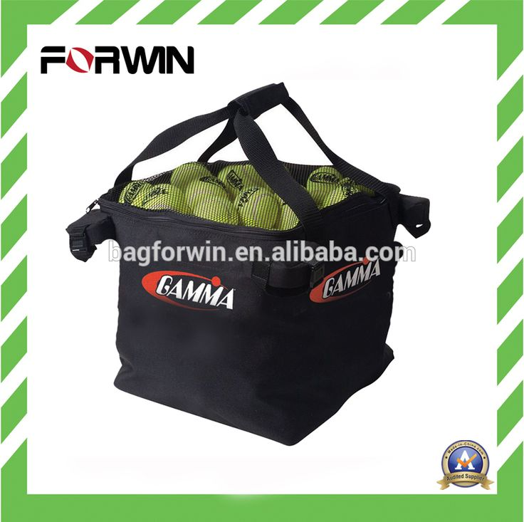 Hot sale Polyester tennis equipment pick up basket tennis carry bag #tennis_basket, #Products