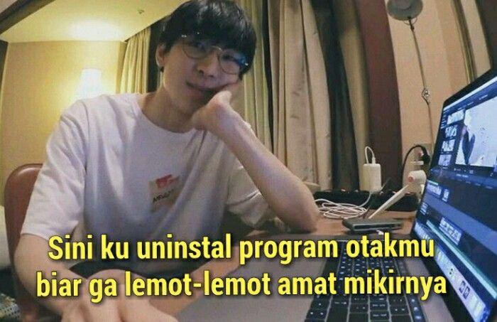 Meme Wonwoo Seventeen Kpopina Pengusaha