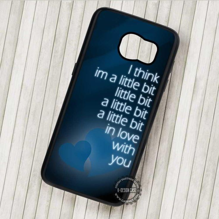 I Think Im A Little Bit Quote Love - Samsung Galaxy S7 S6 S5 Note 7 Cases & Covers #quote #love #blue  #phonecase #phonecover #samsungcase #samsunggalaxycase #SamsungNoteCase #SamsungEdgeCase #SamsungS4MiniCase #SamsungS4RegularCase #SamsungS5Case #SamsungS5MiniCase #SamsungS6Case #SamsungS6EdgeCase #SamsungS6EdgePlusCase #SamsungS7Case #SamsungS7EdgeCase #SamsungS7EdgePlusCase