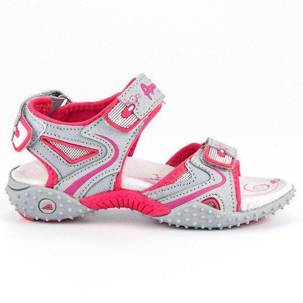Sandalki Dzieciece Dla Dzieci Americanclub Szare Dziewczece Sandaly American American Club Sneakers Nike Nike Huarache Saucony Sneaker