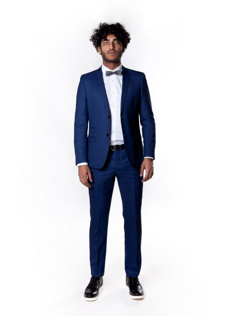 Slim fit suit john barritt wool blend ticket pocket