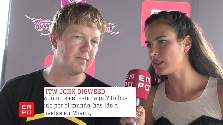 Entrevista John Digweed @Tomorrowland 2012
