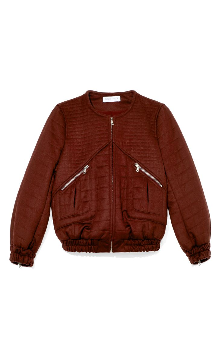 Brielle Bomber by TANYA TAYLOR for Preorder on Moda Operandi