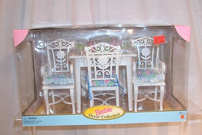 Barbie Decor Collection Target Dining Room Table Chairs