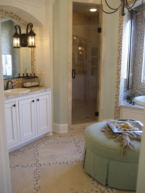 84 best bathrooms images on pinterest bathroom ideas for Master bathroom ottoman