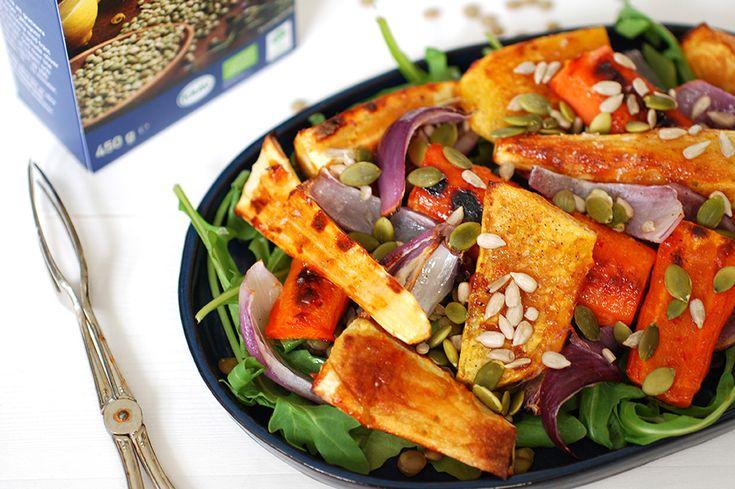 I sommar är det dags för rotfrukterna att ta plats på grillen! Testa dessa BBQ-glaserade rotfrukter som en vegetarisk ensamrätt eller komplettera med exempelvis tofu
