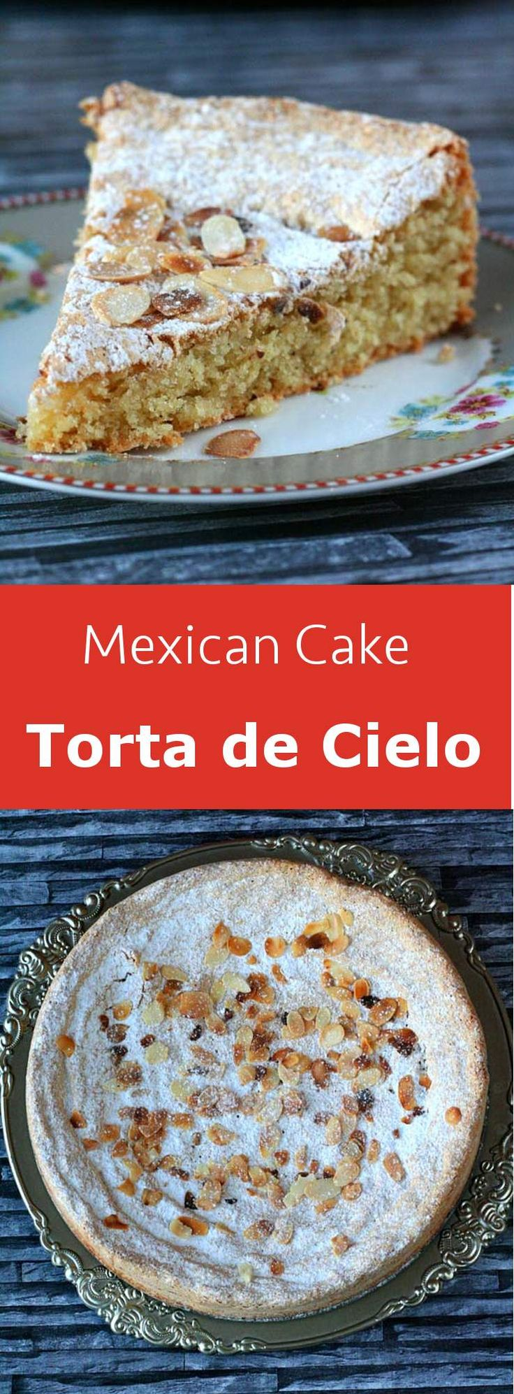 Torta de cielo is a particularly light almond flavored Mexican cake that is very…