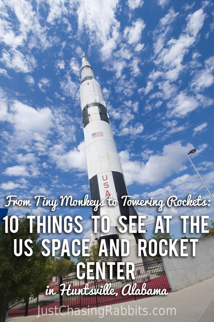 From Tiny Monkeys to Towering Rockets: 10 Things to See at the US Space and Rocket Center in Huntsville, Alabama