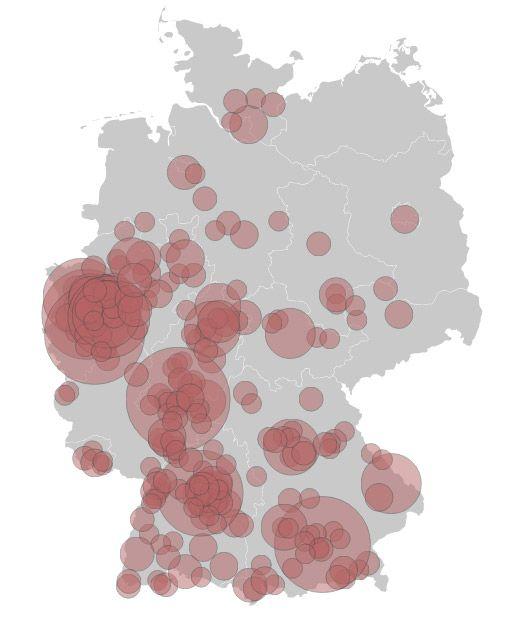 Organisierte Kriminalität in Deutschland: Das Netz der Mafia