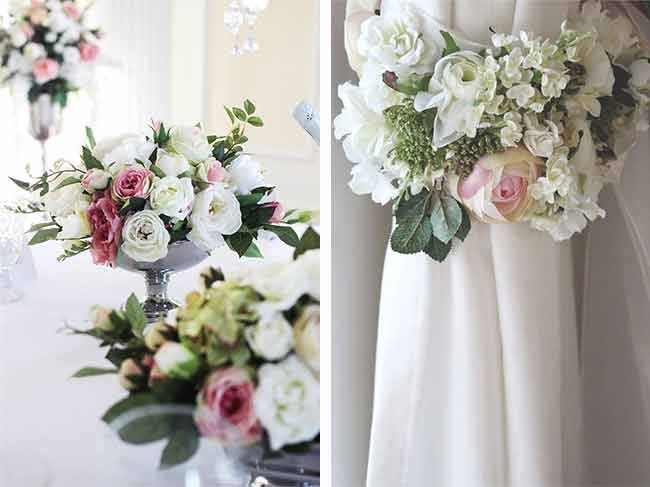 58 best floral wedding decor images on pinterest floral wedding the silk flowers are such high quality youd never know the difference mightylinksfo Image collections
