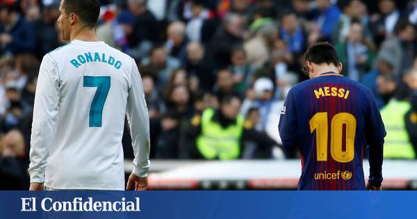 Real Madrid: Así han evolucionado los salarios de Messi y Cristiano con sus renovaciones. Noticias de Fútbol https://www.elconfidencial.com/deportes/futbol/2018-02-10/real-madrid-barcelona-messi-cristiano-renovacion_1519243/