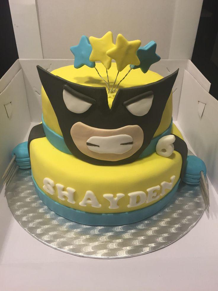 Wolverine taart