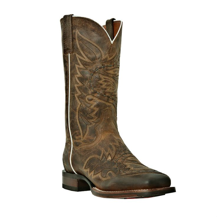 Dan Post Men's Cowboy Certified Sidewinder Stockman Boots